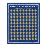 Image: Lincoln Head Penny Collector's Coin Board