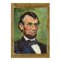 Image: President Abraham Lincoln jigsaw puzzle