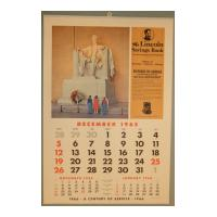 Image: 1966 Lincoln Savings Bank wall calendar
