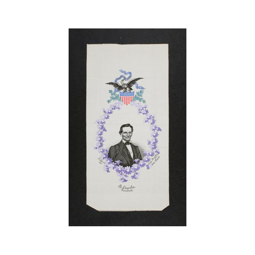 Image: Abraham Lincoln commemorative ribbon