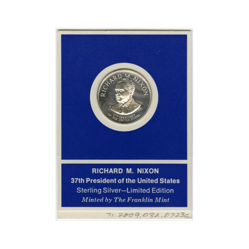 Image: Franklin Mint Treasury of Presidential Commemorative Medals
