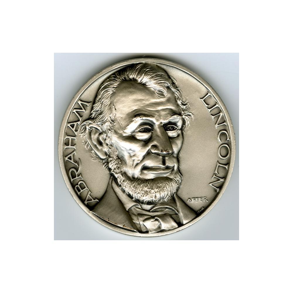Image: President Lincoln Commemorative Medallion