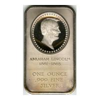 Image: United States Bicentennial silver bar