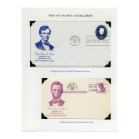 Image: Abraham Lincoln Postal Dedication Program