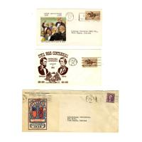 Image - Folder of Civil War Commemorative Cacheted Covers