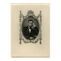 Image: President Abraham Lincoln engraving
