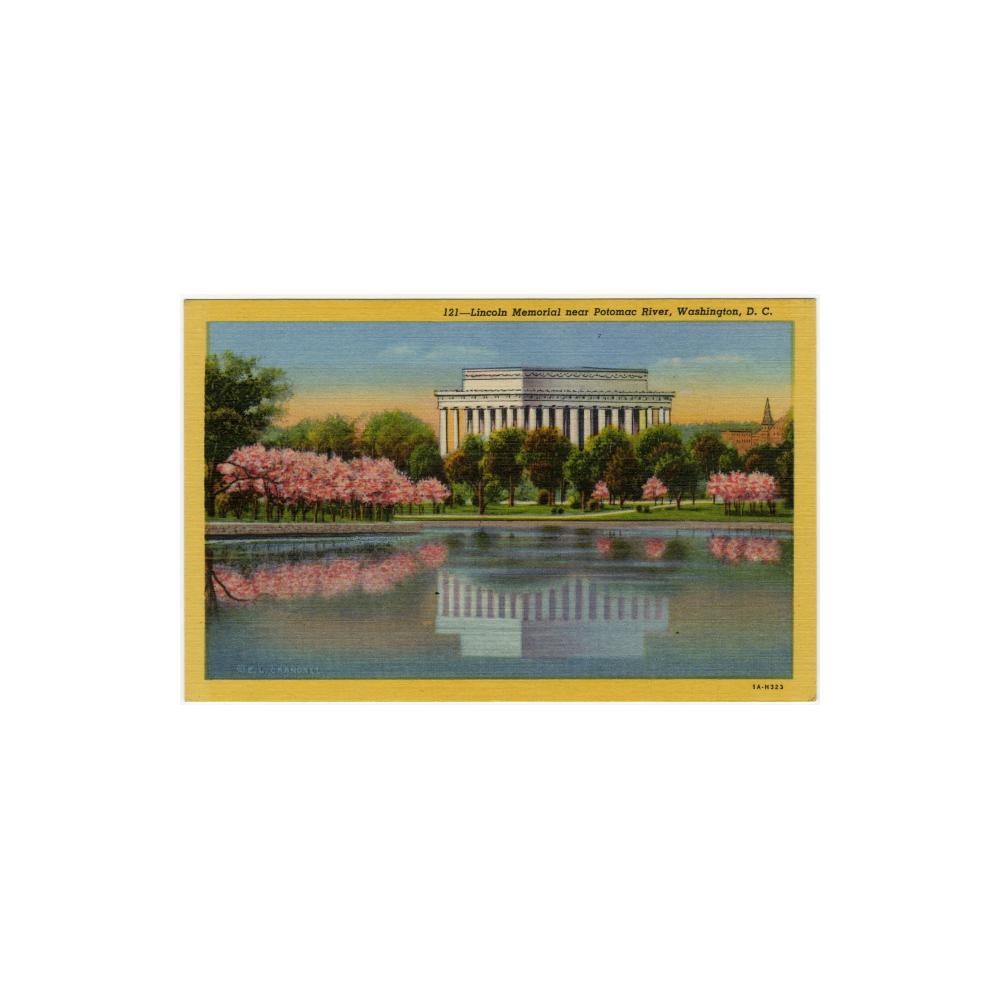 Image: Lincoln Memorial Near the Potomac River, Washington, D. C.