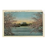 Image: Vista, Lincoln Memorial, Potomac Park, Washington, D. C.