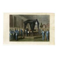 Image: Funeral Obsequies of Prest. Lincoln at the Presidential Mansion