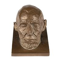 Image: President Lincoln miniature life mask