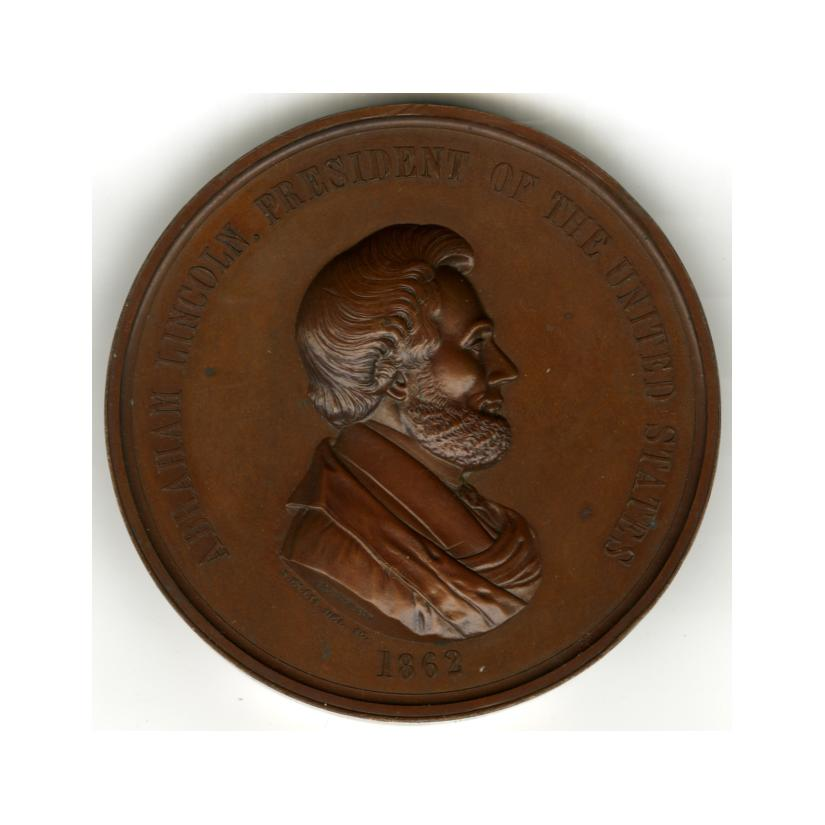 Image: Lincoln Indian Peace Medal