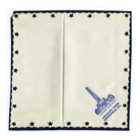 Image: Lincoln's Tomb souvenir handkerchief
