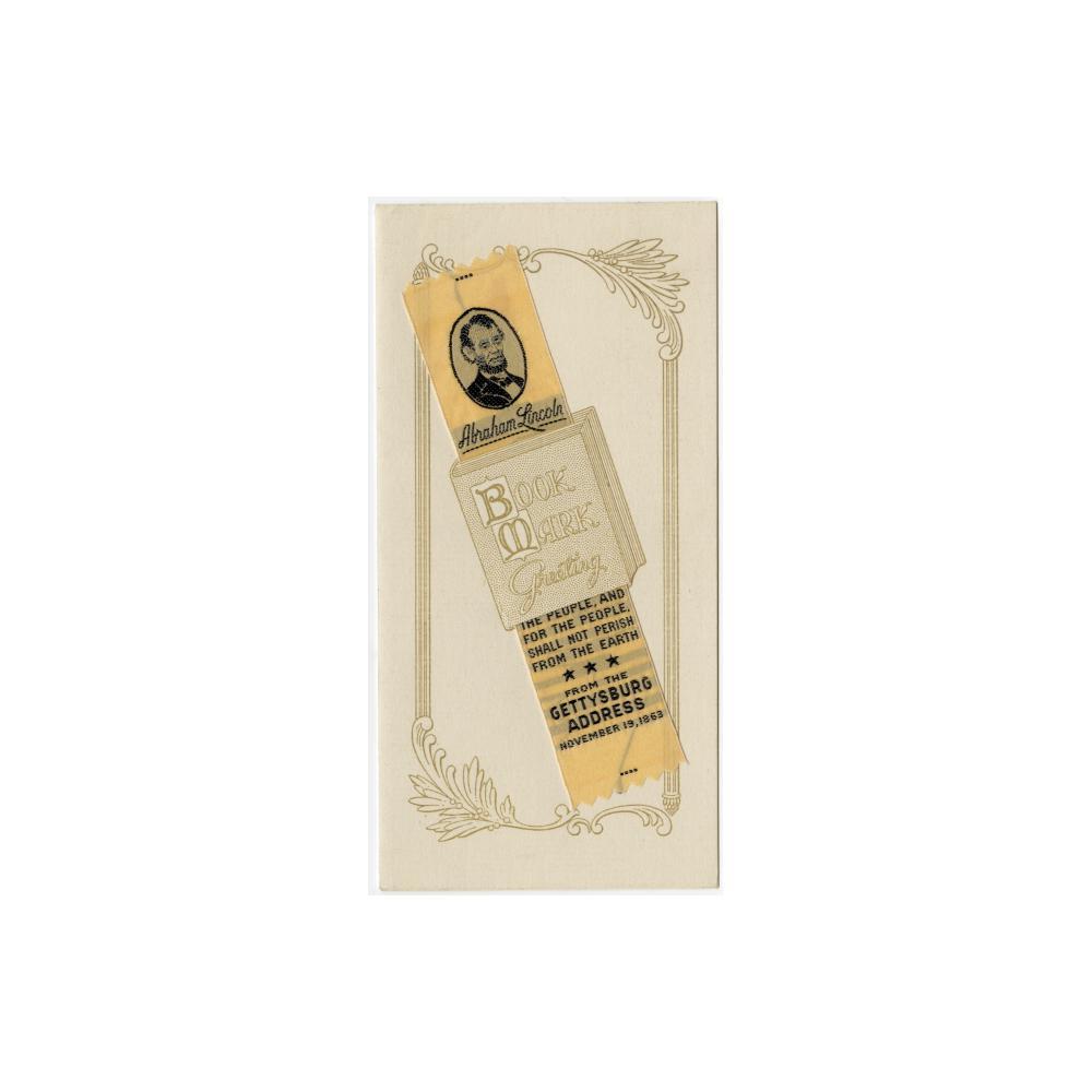 Image: Bookmark Greeting Card