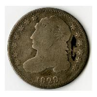 Image: 1829 Ten-cent coin