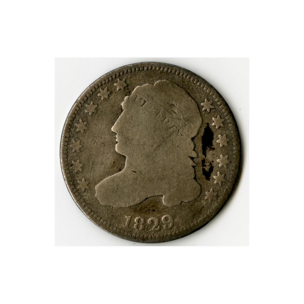 Image: 1829 Ten-cent coin