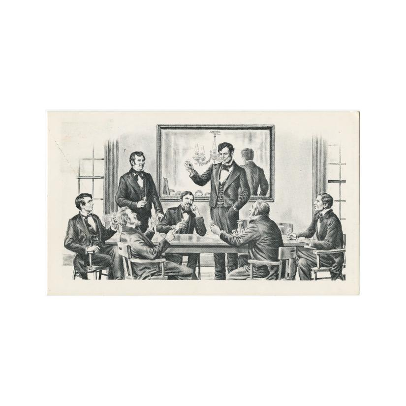 Image: Lincoln's Toast at the Long Nine Banquet