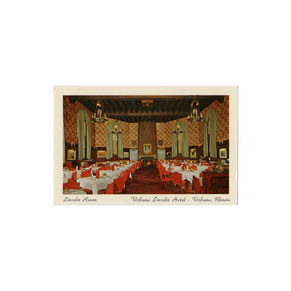 Image: Lincoln Room at Urbana Lincoln Hotel, Urbana, Illinois