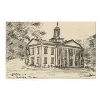 Image: Statehouse, Vandalia, Illinois