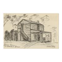 Image: Evans' Cabin, Vandalia, Illinois