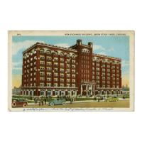 Image: New Exchange Building, Union Stock Yards, Chicago
