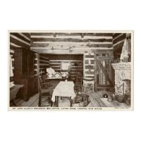 Image: Dr. John Allen's Residence, Living Room, Looking into Office