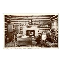 Image: Henry Onstot's [sic] Residence and Cooper Shop, East Living Room