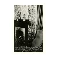 Image: Family Sitting Room in A. Lincoln's Home