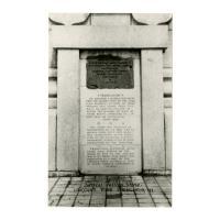 Image: Servius Tullius Stone, Lincoln's Tomb