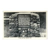 Image: Treaty Spring, Wabash, Ind.