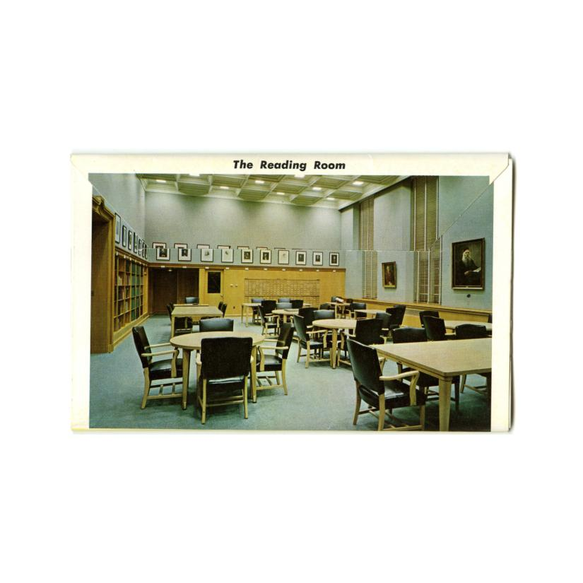 Image: Souvenir Folder of The Lilly Library