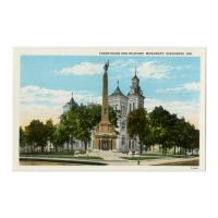 Image: Courthouse and Soldiers' Monument, Vincennes, Ind.