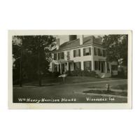 Image: Wm. Henry Harrison House, Vincennes, Ind.
