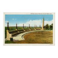 Image: Abraham Lincoln Memorial, Council Bluffs, Iowa