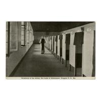 Image: Dormitory of the Abbey, Our Lady of Gethsemani, Trappist P. O., Ky.