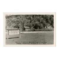 Image: Replica of Lincoln's Boyhood Home on Knob Creek