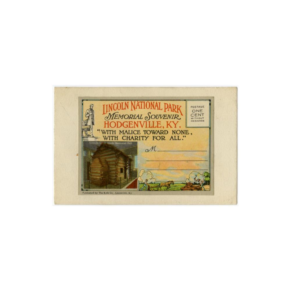 Image: Lincoln National Park Memorial Souvenir