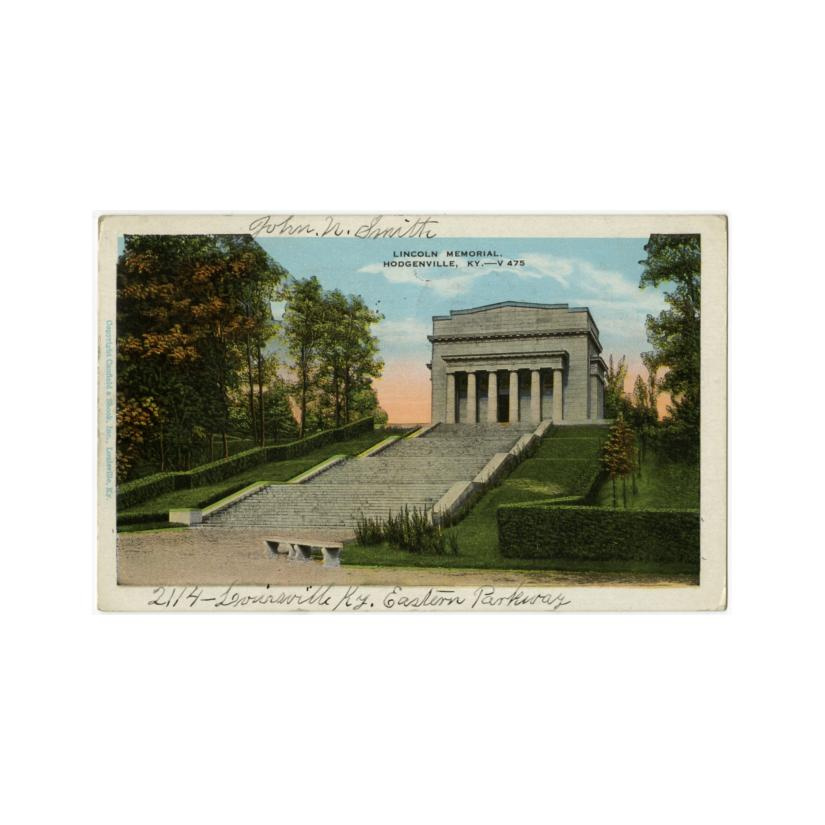 Image: Lincoln Memorial, Hodgenville, Ky.