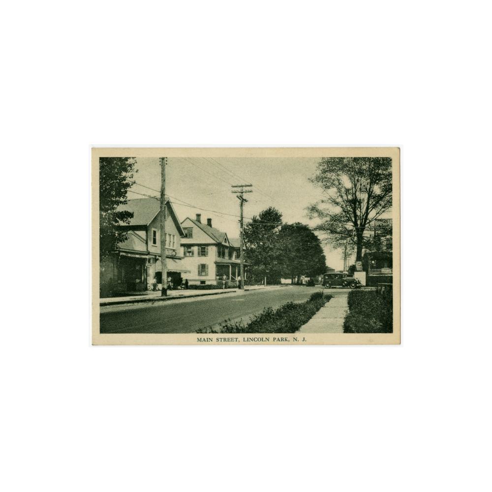 Image: Main Street, Lincoln Park, N. J.