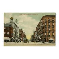 Image: Market Street from Square, Harrisburg, Pa.