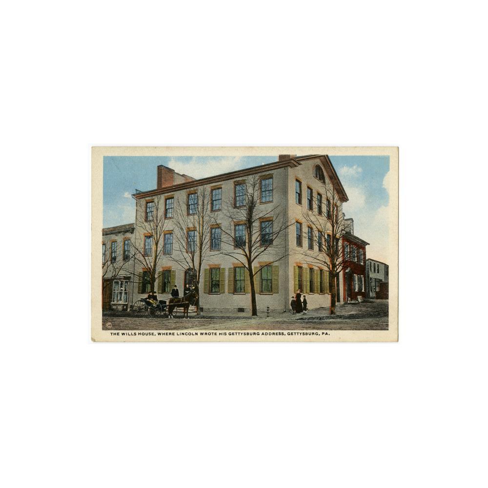 Image: Wills House, Gettysburg, Pa.