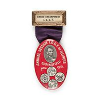 Image: International Order of Odd Follows Badge