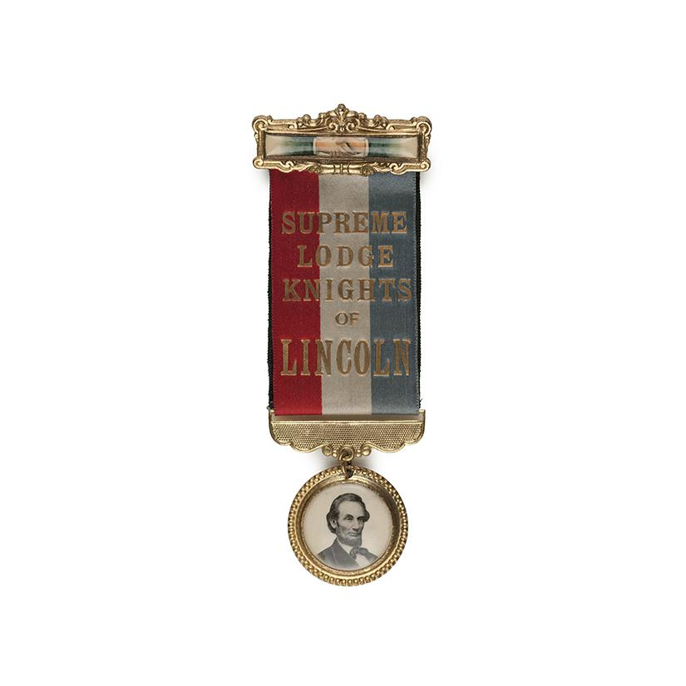 Image: Supreme Lodge Knights of Lincoln ribbon