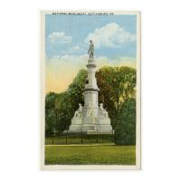 Image: National Monument, Gettysburg, Pa.