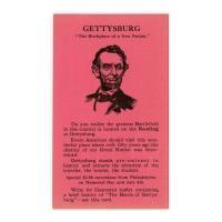 Image: Advertising Postcard--Gettysburg