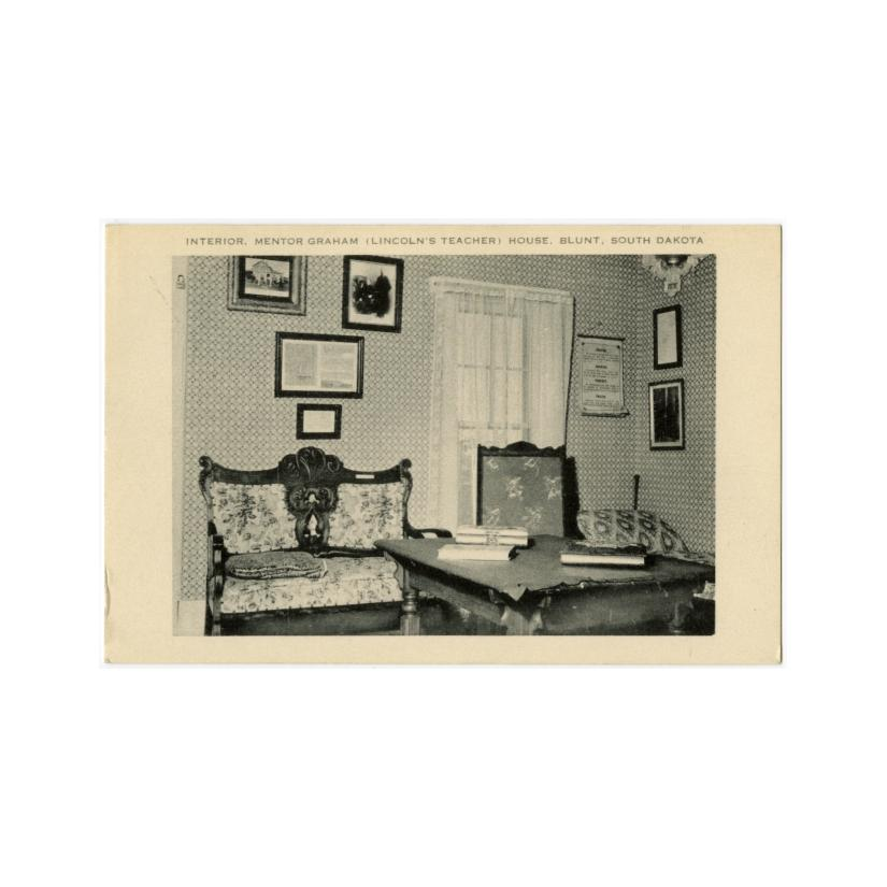 Image: Interior, Mentor Graham House