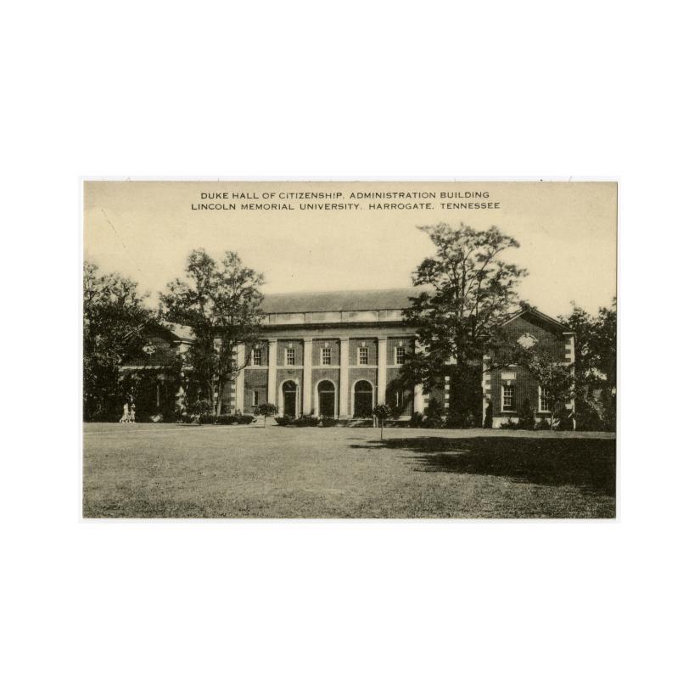 Image: Duke Hall of Citizenship, Administrative Building, Lincoln Memorial University