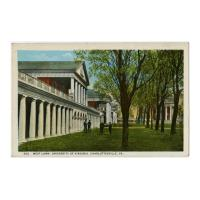 Image: West Lawn, University of Virginia