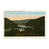 Image: The Gap from Hill Top House, Harpers Ferry, W. Va.