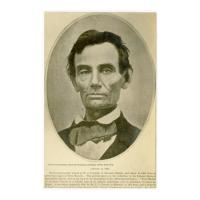 Image: Lincoln in 1858