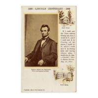 Image: 1809--Lincoln Centenary--1909